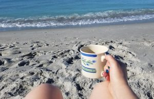 Recovering from surgery on Captiva Island